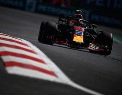 """Verstappen: """"Tuve un pequeño problema hidráulico pero nada nos preocupa mañana"""""""