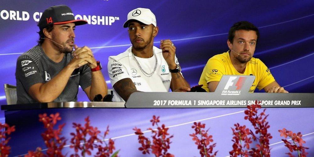"""Lewis Hamilton: """"No me da pena Fernando Alonso, nunca le faltaron oportunidades"""""""