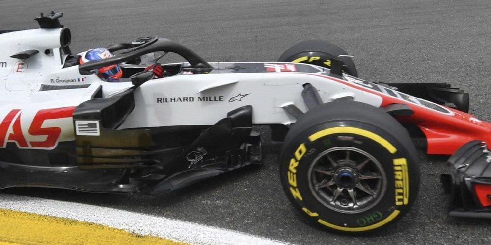 Haas F1 Team pierde la apelación ante la FIA y Grosjean queda eliminiado en Monza