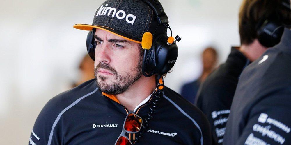 """Fernando Alonso, sobre Brasil: """"Dio lugar a grandes carreras y siempre es impredecible"""""""