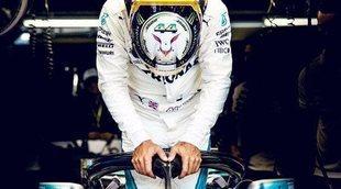 """Lewis Hamilton: """"Ahora afrontamos la última carrera sabiendo que somos leyendas"""""""