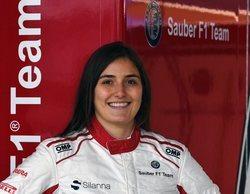 """Calderón, tras los test con Sauber: """"Estoy ilusionada por poner en práctica todo lo aprendido"""""""