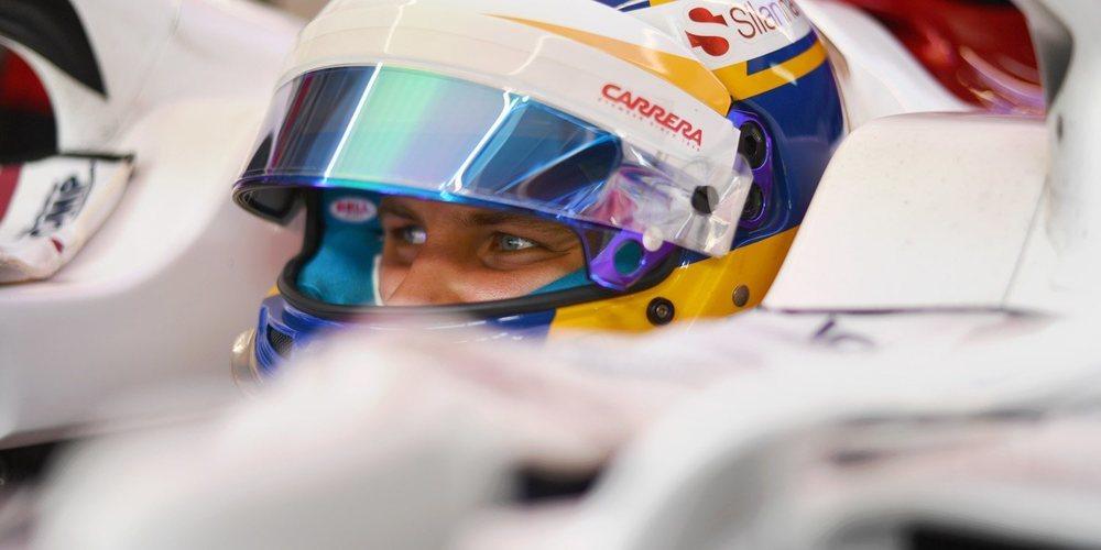"""Marcus Ericsson, para Abu Dabi: """"El coche es competitivo, empujaremos para sumar más puntos"""""""