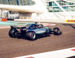 Lewis Hamilton finaliza primero en los Libres 3 del Gran Premio de Abu Dabi 2018