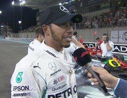 Lewis Hamilton logra un tiempo impresionante y se alza con la pole en el GP de Abu Dabi 2018
