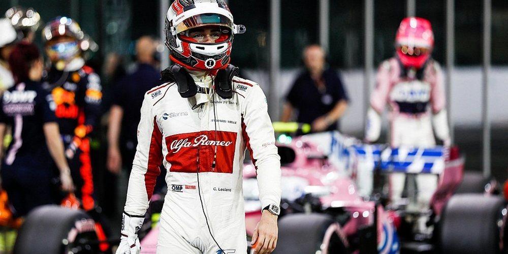 """Charles Leclerc: """"Ha sido un gran año y mi objetivo es terminar con un buen resultado mañana"""""""