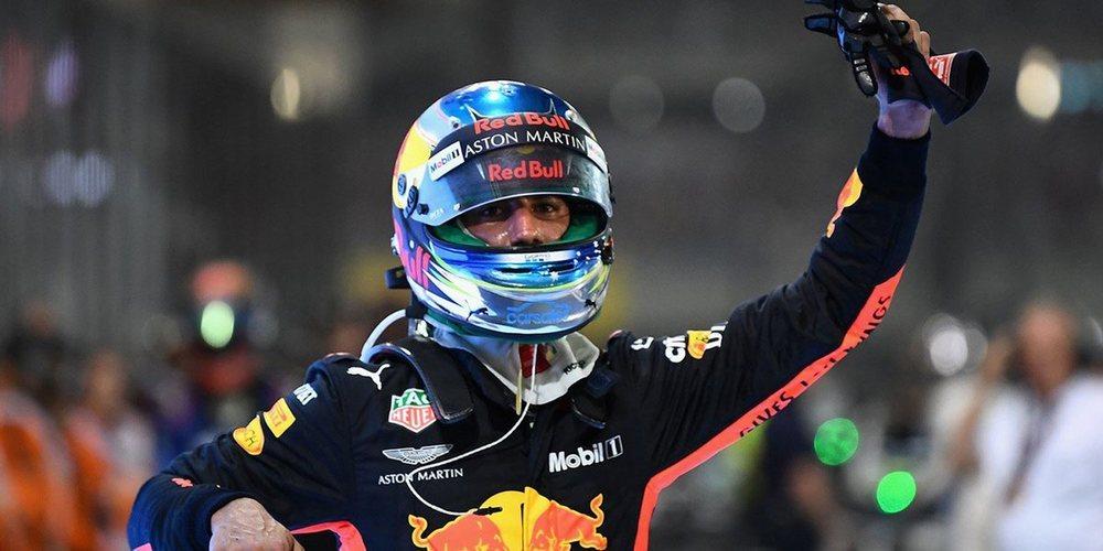 """Daniel Ricciardo: """"Estoy increíblemente agradecido a Red Bull, es algo que nunca olvidaré"""""""