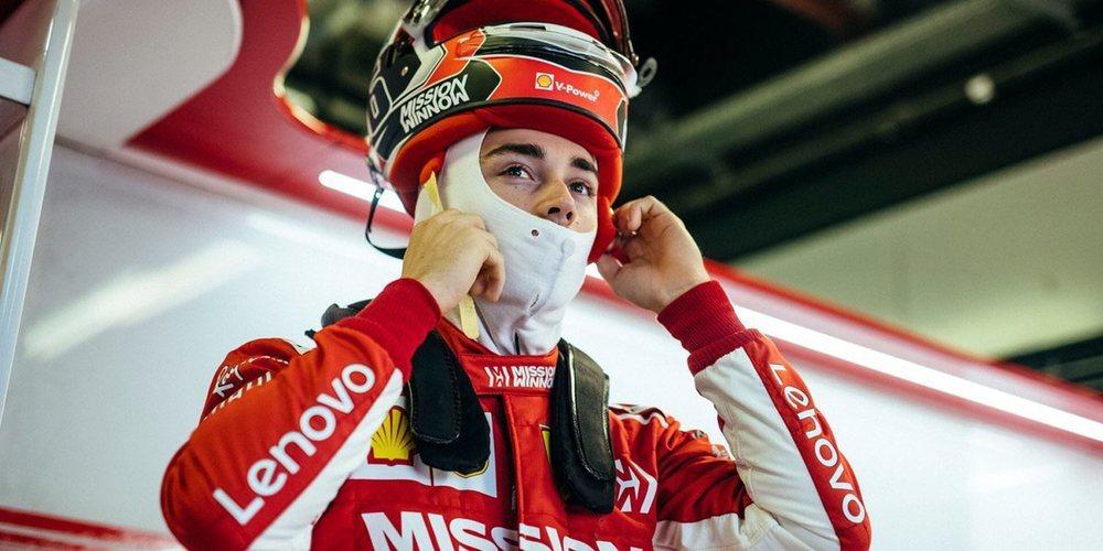"""Leclerc, tras los test de Pirelli con Ferrari: """"Fue el día que estuve esperando tanto tiempo"""""""