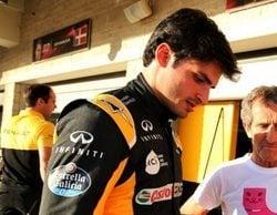 Carlos Sainz asegura desconocer los motivos de sus bajos resultados con Renault