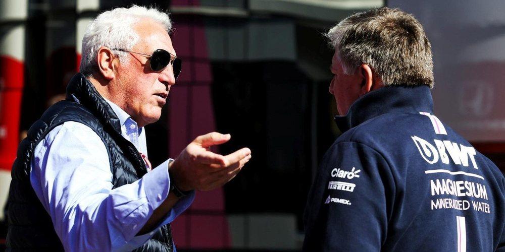 """Lawrence Stroll, sobre su entrada en la Fórmula 1: """"No estoy aquí por ego"""""""