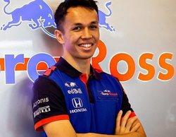 """Alexander Albon: """"Es una sensación increíble saber que estaré en Fórmula 1 el próximo año"""""""