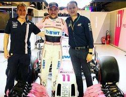 """Sergio Pérez: """"Si hay un equipo que puede dar un paso adelante, ese es Racing Point"""""""