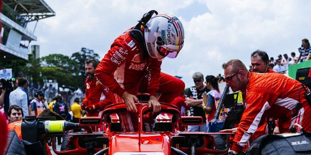 "Vettel, sobre Mercedes: ""Superar a un equipo tan fuerte es difícil pero ese es nuestro objetivo"""