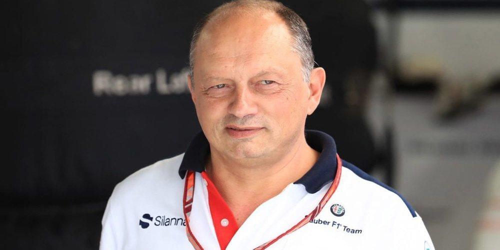 """Frédéric Vasseur, sobre Kimi Räikkönen: """"Será importante y una referencia para el equipo"""""""