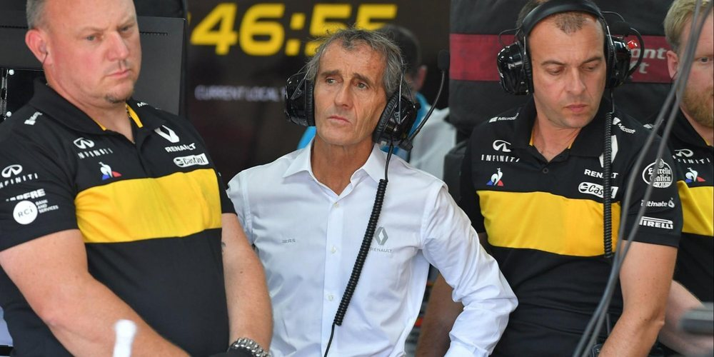 """Alain Prost: """"El siguiente paso será estar más cerca de los tres equipos grandes en 2019"""""""