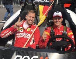 Sebastian Vettel confiesa que Michael Schumacher estaría muy orgulloso de su hijo Mick