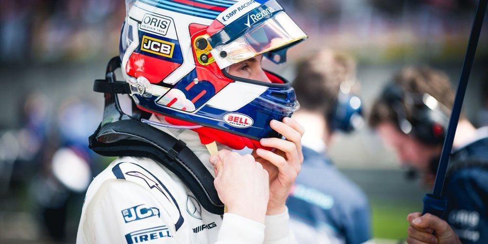 """Sergey Sirotkin, de su paso por Williams: """"Mi vida se dividió en un antes y un después"""""""