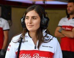 """Susie Wolff, sobre Tatiana Calderón: """"Demostró que es muy capaz al conducir el Sauber"""""""