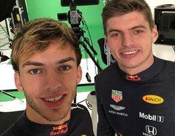 """Pierre Gasly: """"Compartir garaje con Max Verstappen es lo mejor que me podía pasar"""""""