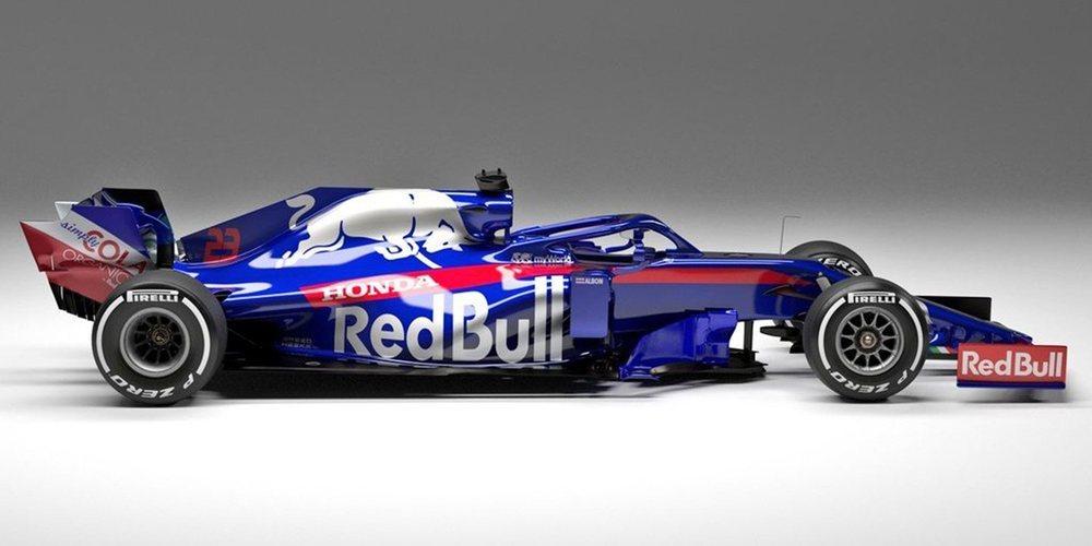 Toro Rosso presenta su nuevo coche para 2019: el STR14