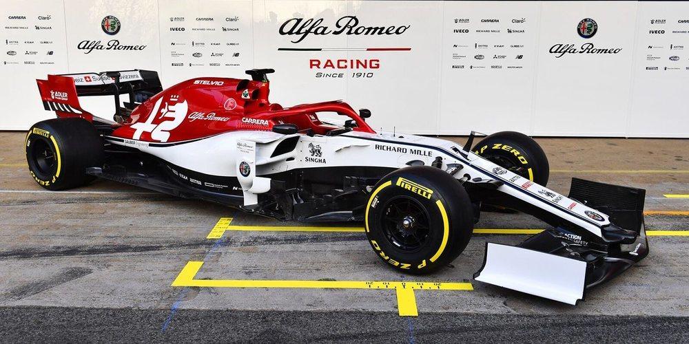 Alfa Romeo Racing presenta en sociedad el C38
