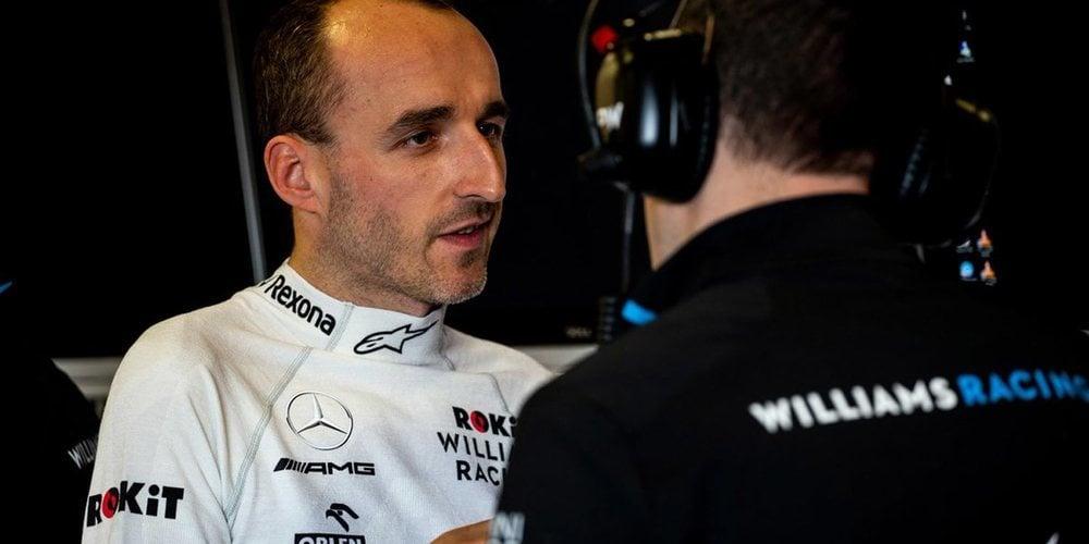 "Robert Kubica: ""No tengo el nivel de confianza que me hubiera gustado de cara a Australia"""