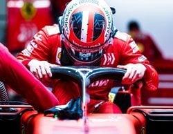 "Sebastian Vettel: ""Si Leclerc no fuera un piloto rápido, no estaría en Ferrari"""
