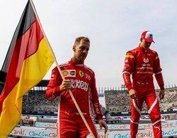 """Vettel, sobre Mick Schumacher: """"No creo que su apellido vaya a beneficiarle ni a perjudicarle"""""""