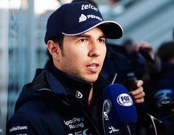 """Sergio Pérez: """"No somos los más rápidos de la zona media, pero tampoco los más lentos"""""""