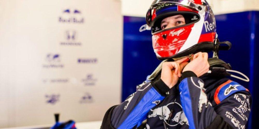 """Daniil Kvyat, sobre su periodo fuera de la F1: """"Siempre dije que la intención era volver al paddock"""""""