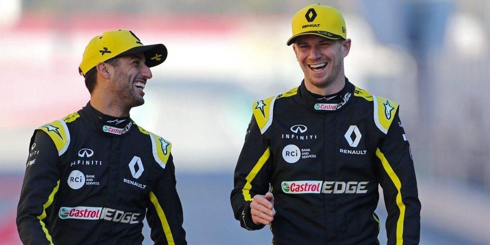 """Nico Hülkenberg, sobre Ricciardo: """"Quiero asegurarme de que puedo trabajar a mi mejor nivel"""""""