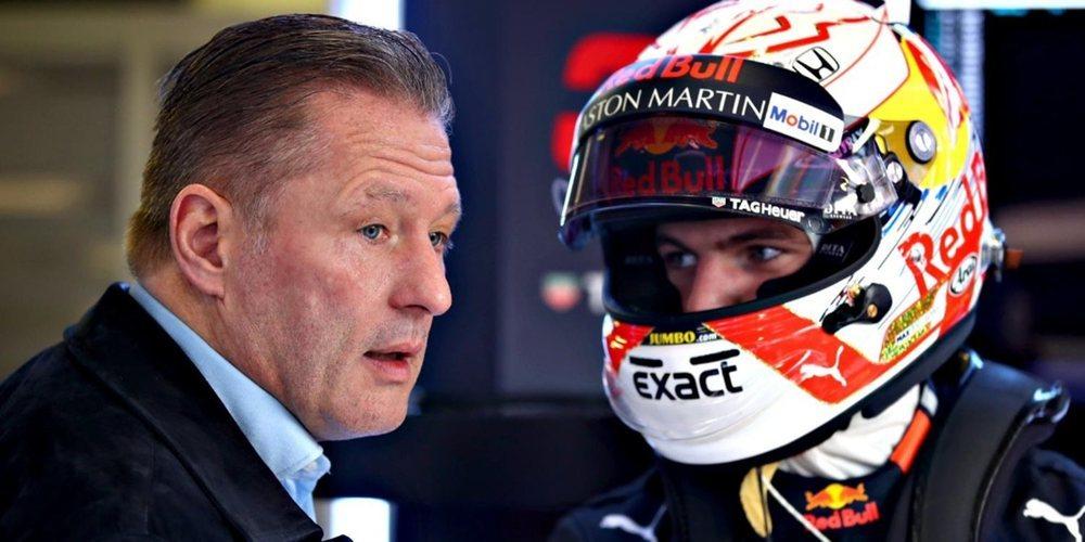 """Jos Verstappen: """"El objetivo de Max esta temporada es acabar entre los tres primeros"""""""