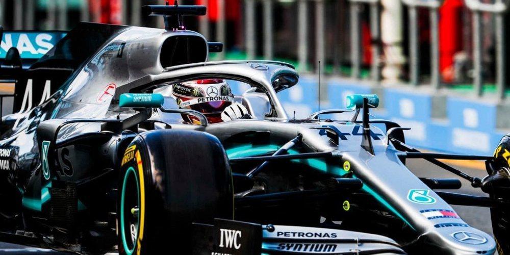 Hamilton se lleva los Libres 1 del GP de Australia 2019