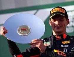 """Verstappen: """"La tercera posición ha sido merecida, estoy muy contento por el equipo y por Honda"""""""
