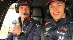 """Horner, sobre pilotos de 2019: """"La mejor alineación posible era con Max Verstappen y Pierre Gasly"""""""