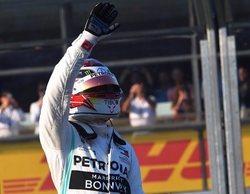 """Hamilton: """"No sé por qué se dañó el fondo plano, pues no me salí de pista en ningún momento"""""""
