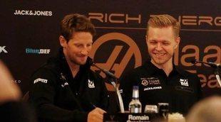"""Magnussen y Grosjean, en contra del punto extra: """"Solo beneficia a los mejores equipos"""""""