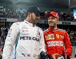 """Lewis Hamilton: """"Vettel ha tenido actuaciones impresionantes que compensan las más débiles"""""""