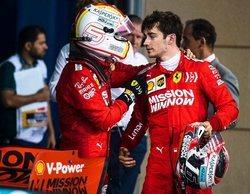 """Mattia Binotto, sobre Vettel y Leclerc: """"Es importante tener un buen espíritu de pelea en el equipo"""""""