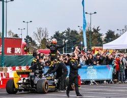 El Gran Premio de Francia y Renault F1 Team comenzaron su gira en Disneyland París