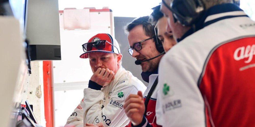 """Kimi Räikkönen: """"Tenemos herramientas para hacer buenos monoplazas y mejorarlos"""""""