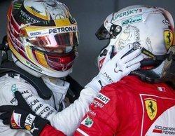 """Vettel agradece a Hamilton su apoyo: """"Igual es el único que no tiene una memoria a corto plazo"""""""