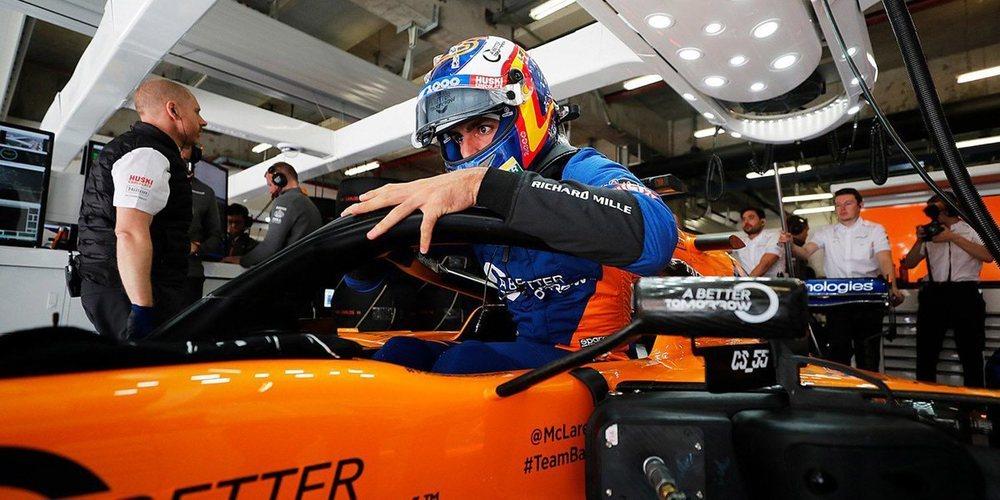 """Carlos Sainz: """"Fue decepcionante la decimocuarta posición, pero sabíamos que era una pista dura"""""""