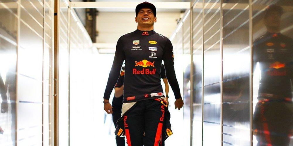 """Verstappen: """"No estoy contento con lo que ha hecho Vettel, pero al menos tenemos buen ritmo"""""""