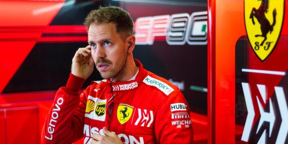 """Sebastian Vettel: """"Nuestros rivales tuvieron más ritmo hoy a una vuelta"""""""