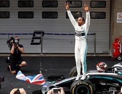 """Lewis Hamilton: """"Conseguir un doblete en el Gran Premio número 1.000 es algo muy especial"""""""