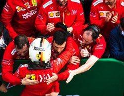 """Sebastian Vettel: """"No podemos estar satisfechos porque hoy fuimos demasiado lentos"""""""