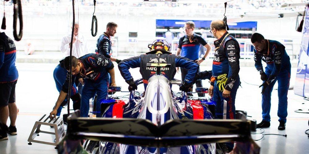 """Previa Toro Rosso - Azerbaiyán: """"Nuestro principal objetivo es entrar en la Q3"""""""