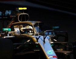 La estrella plateada de Valtteri Bottas brilla y logra la pole position en el atardecer de Bakú