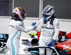 """Esteban Ocon: """"Habrá una guerra entre Bottas y Hamilton hasta el final de la temporada"""""""